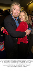 SIR RICHARD BRANSON and his sister VANESSA BRANSON, at an exhibition in London on 7th December 2000.OKA 32