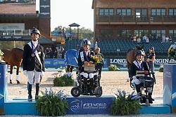 Snikus Rihards, LAT, Morganti Sara, ITA, Trunnell Roxanne, USA<br /> World Equestrian Games - Tryon 2018<br /> © Hippo Foto - Sharon Vandeput<br /> 22/09/2018
