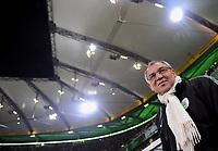Fotball<br /> Tyskland<br /> Foto: Witters/Digitalsport<br /> NORWAY ONLY<br /> <br /> 26.02.2009<br /> <br /> Trainer Felix Magath Wolfsburg<br /> UEFA-Cup VfL Wolfsburg - Paris St. Germain
