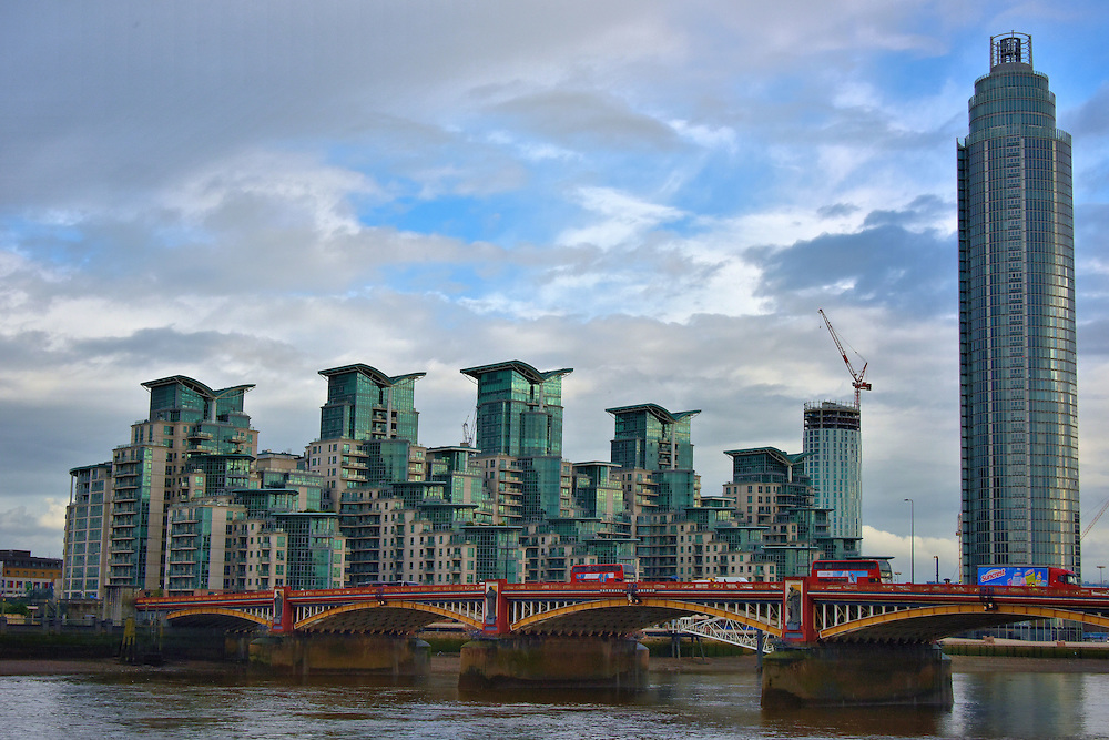 St George Wharf in London, England<br />