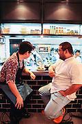 Denny Antonino and Nicco Santos owners, Your Local restaurant, Manila