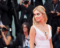 Chiara Ferragni  at the premiere of the film Suburbicon at the 74th Venice Film Festival, Sala Grande on Saturday 2 September 2017, Venice Lido, Italy.