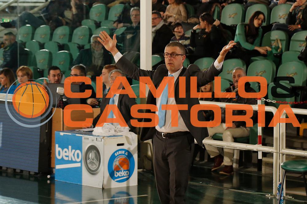 DESCRIZIONE : Avellino Lega A 2014-15 Sidigas Avellino Upea Capo d'Orlando<br /> GIOCATORE : Giulio Griccioli<br /> CATEGORIA : ritratto delusione<br /> SQUADRA : Upea Capo d'Orlando<br /> EVENTO : Campionato Lega A 2014-2015<br /> GARA : Sidigas Avellino Upea Capo d'Orlando<br /> DATA : 01/03/2015<br /> SPORT : Pallacanestro <br /> AUTORE : Agenzia Ciamillo-Castoria/A. De Lise<br /> Galleria : Lega Basket A 2014-2015 <br /> Fotonotizia : Avellino Lega A 2014-15 Sidigas Avellino Upea Capo d'Orlando