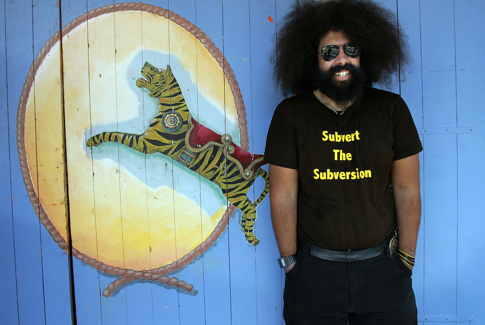 Entertainer Reggie Watts - Sydney Morning Herald