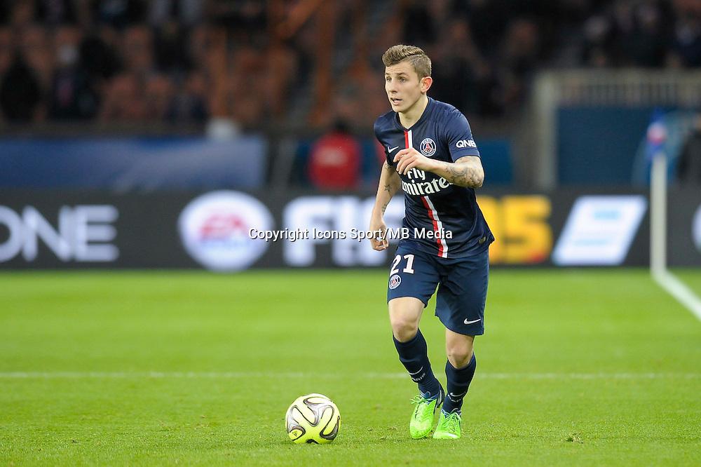 Lucas Digne - 06.12.2014 - PSG / Nantes - 17eme journee de Ligue 1<br />Photo : Andre Ferreira / Icon Sport