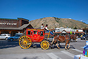 Castagno outfitters wagon, Jackson, Wyoming