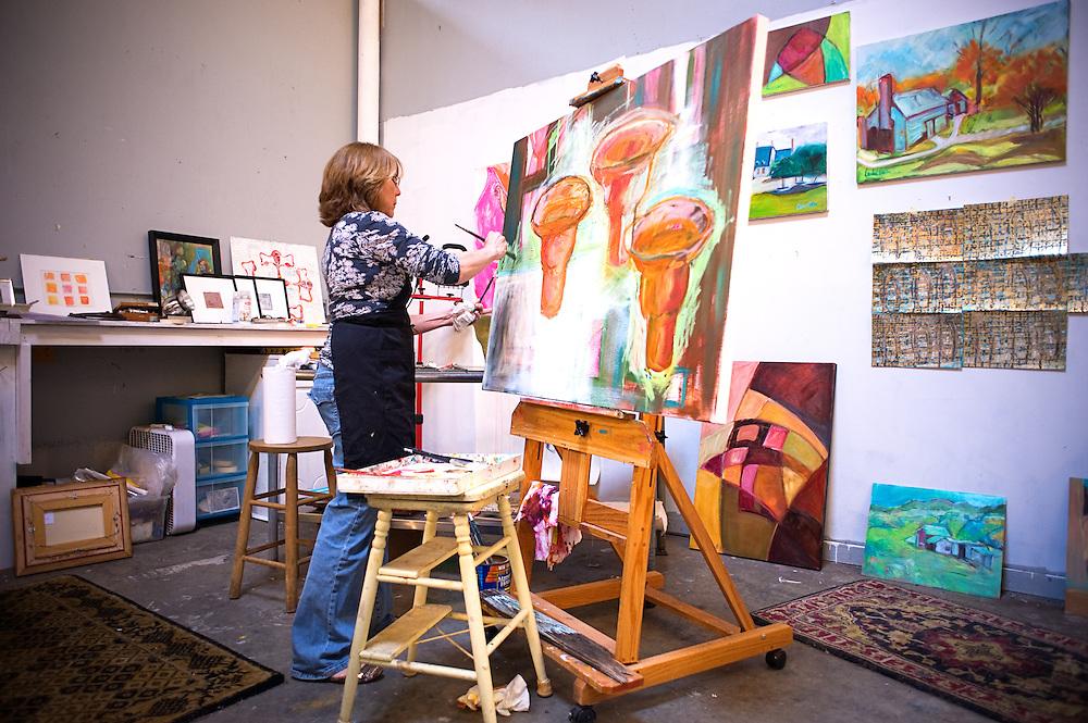 Artist Rachel Kastner