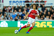 Matteo Guendouzi (#29) of Arsenal  during the Premier League match between Newcastle United and Arsenal at St. James's Park, Newcastle, England on 15 September 2018.