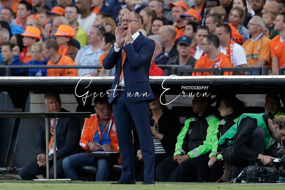 04-06-2017 VOETBAL:NEDERLAND-IVOORKUST:ROTTERDAM<br /> Oranje oefende tegen Ivoorkust vanavond in De Kuip<br /> <br /> Fred Grim <br /> <br /> Foto: Geert van Erven