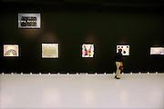 Nederland, Nijmegen, 27-5-2011In het gemeentelijk museum het Valkhof,Valkhofmuseum, is een overzichtstentoonstelling geopend van de uit Woezik, gemeente Wijchen, afkomstige kunstenaar Harrie Gerritz, geb. 1940. Vanaf het midden van de jaren zestig legt hij zich toe op het weergeven van zijn favoriete landschap: het land van Maas en Waal. Foto: Flip Franssen/Hollandse Hoogte