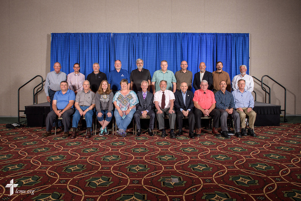 Rocky Mountain District group photograph on Tuesday, July 12, 2016, at the 66th Regular Convention of The Lutheran Church–Missouri Synod, in Milwaukee. LCMS/Frank Kohn