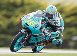 October 22, 2016 - Melbourne, Victoria, Australia - Spanish rider Joan Mir (#36) of Leopard Racing in action during the 3rd Moto3 Free Practice session at the 2016 Australian MotoGP held at Phillip Island, Australia. (Credit Image: © Theo Karanikos via ZUMA Wire)