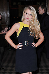 Singer CAMILLA KERSLAKE at a fashion show by Catherine Walker & Co in support of The Haven held at One Mayfair, North Audley Street, London on 18th May 2011.