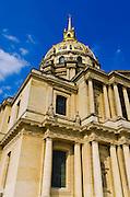 Gold-domed Chapel of Saint-Louis (burial site of Napoleon), Les Invalides, Paris, France