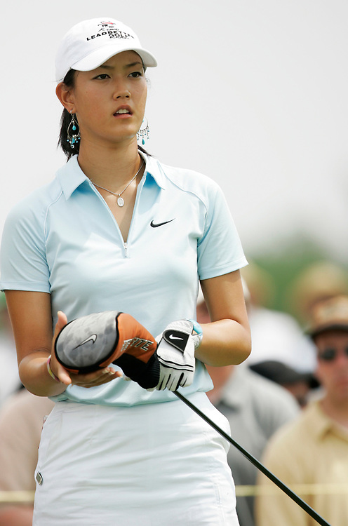 HAVRE DE GRACE , MARYLAND - JUNE 11, 2005<br /> Michelle WIE during the third round of the 2005  McDonald's LPGA Championship held at Bulle Rock golf course in Havre De Grace, Maryland.