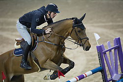 Verlooy Jos, (BEL), Domino <br /> Training session<br /> Longines FEI World Cup™ Jumping Finals <br /> Las Vegas 2015<br />  © Hippo Foto - Dirk Caremans<br /> 15/04/15