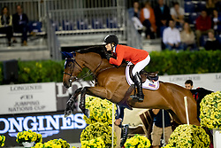 Philippaertsd Nicola, BELSpringsteen Jessica, USA, RMF Zecillie<br /> Longines FEI Jumping Nations Cup™ Final<br /> Barcelona 20128<br /> © Hippo Foto - Dirk Caremans<br /> 05/10/2018