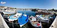 The picturesque port of Elounda in Lassithi, Crete.