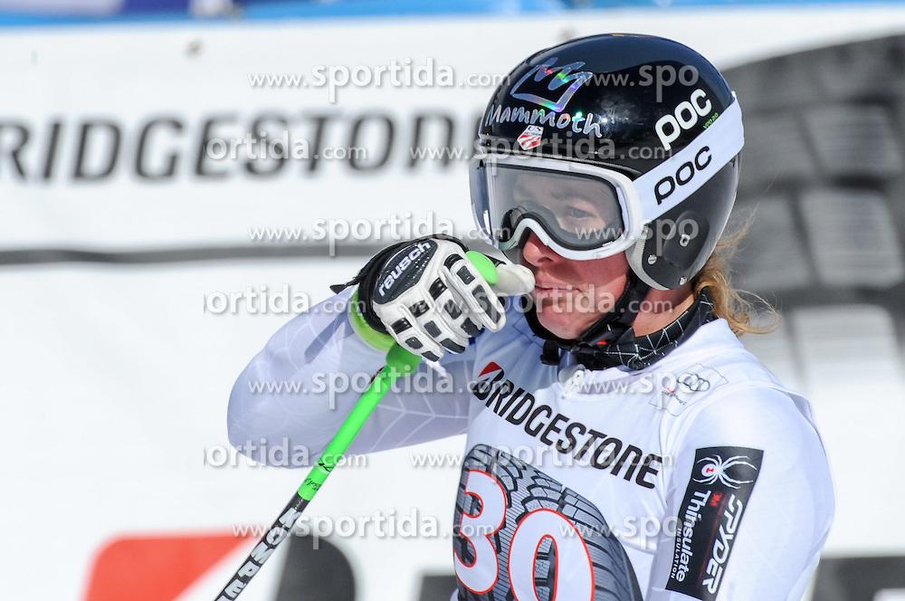 06.03.2015, Kandahar, Garmisch Partenkirchen, GER, FIS Weltcup Ski Alpin, Abfahrt, Damen, 1. Trainingslauf, im Bild Stacey Cook (USA) // Stacey Cook of the United States during 1st training run for the ladie's Downhill of the FIS Ski Alpine World Cup at the Kandahar course, Garmisch Partenkirchen, Germany on 2015/03/06. EXPA Pictures © 2015, PhotoCredit: EXPA/ Erich Spiess