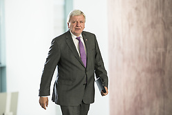 June 14, 2018 - Berlin, Germany - Prime Minister of Hessen Volker Bouffier arrives to a meeting between Government and Prime Ministers of the German States (Laender) at the Chancellery in Berlin, Germany on June 14, 2018. (Credit Image: © Emmanuele Contini/NurPhoto via ZUMA Press)