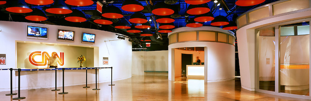 Tour Entrance of CNN at The New time Warner Building