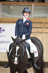 Christiansen Sophie, (GBR), Athene Lindebjerg<br /> Grade Ia Team Test<br /> Para-Dressage FEI European Championships Deauville 2015<br /> © Hippo Foto - Jon Stroud<br /> 18/09/15