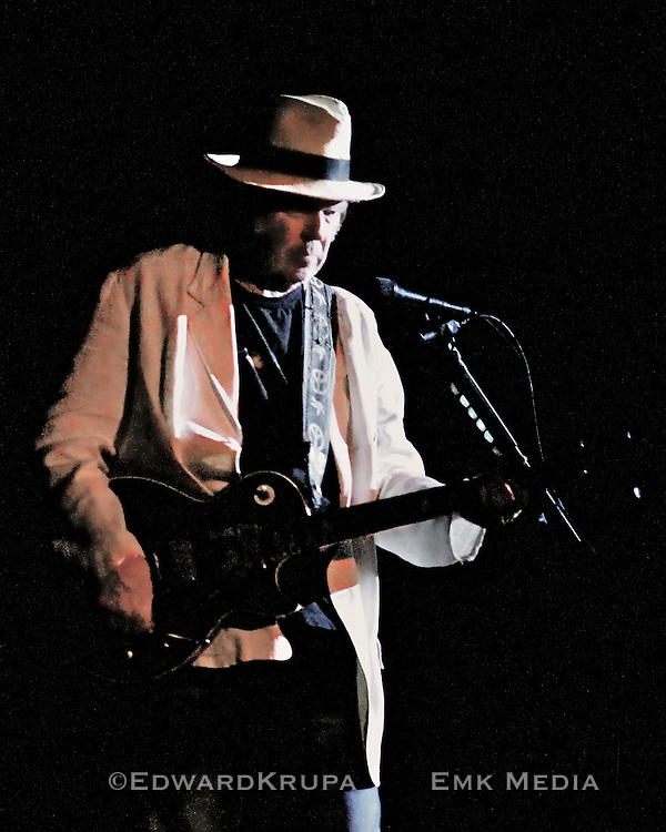 Neil Young playing at Massey Hall in Toronto, Canada 2011