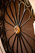 Wrought iron work detail in Charleston, SC.