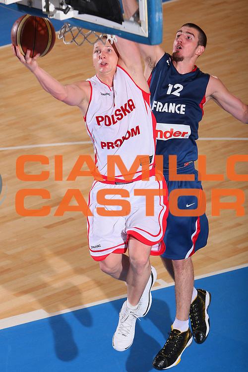 DESCRIZIONE : Bormio Torneo Internazionale Maschile Diego Gianatti Francia Polonia <br /> GIOCATORE : Krzystof Szubarga <br /> SQUADRA : Polonia Poland <br /> EVENTO : Raduno Collegiale Nazionale Maschile <br /> GARA : Francia Polonia France Poland <br /> DATA : 01/08/2008 <br /> CATEGORIA : Tiro <br /> SPORT : Pallacanestro <br /> AUTORE : Agenzia Ciamillo-Castoria/S.Silvestri <br /> Galleria : Fip Nazionali 2008 <br /> Fotonotizia : Bormio Torneo Internazionale Maschile Diego Gianatti Francia Polonia <br /> Predefinita :
