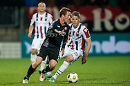 Onderwerp/Subject: Willem II - FC Utrecht - Eredivisie<br /> Reklame:  <br /> Club/Team/Country: <br /> Seizoen/Season: 2012/2013<br /> FOTO/PHOTO: Kevin BRANDS (R) of Willem II in duel with Cedric VAN DER GUN (L) of FC Utrecht. (Photo by PICS UNITED)<br /> <br /> Trefwoorden/Keywords: <br /> #04 $94 &plusmn;1342772348418<br /> Photo- &amp; Copyrights &copy; PICS UNITED <br /> P.O. Box 7164 - 5605 BE  EINDHOVEN (THE NETHERLANDS) <br /> Phone +31 (0)40 296 28 00 <br /> Fax +31 (0) 40 248 47 43 <br /> http://www.pics-united.com <br /> e-mail : sales@pics-united.com (If you would like to raise any issues regarding any aspects of products / service of PICS UNITED) or <br /> e-mail : sales@pics-united.com   <br /> <br /> ATTENTIE: <br /> Publicatie ook bij aanbieding door derden is slechts toegestaan na verkregen toestemming van Pics United. <br /> VOLLEDIGE NAAMSVERMELDING IS VERPLICHT! (&copy; PICS UNITED/Naam Fotograaf, zie veld 4 van de bestandsinfo 'credits') <br /> ATTENTION:  <br /> &copy; Pics United. Reproduction/publication of this photo by any parties is only permitted after authorisation is sought and obtained from  PICS UNITED- THE NETHERLANDS