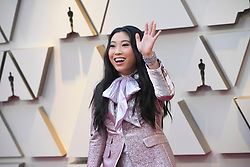 February 24, 2019 - Los Angeles, California, U.S - 'Crazy Rich Asian' actress AWKWAFINA, wearing a DSquared suit, during red carpet arrivals for the 91st Academy Awards, presented by the Academy of Motion Picture Arts and Sciences (AMPAS), at the Dolby Theatre in Hollywood. (Credit Image: © Kevin Sullivan via ZUMA Wire)