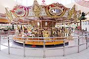 Carrousel at the Las Vegas Premium Outlets Shopping Center, Nevada, USA