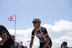 Ellen van Dijk (NED) of Team Sunweb rides mid-pack during Stage 1 of the OVO Energy Women's Tour - a 147.5 km road race, between Daventry and Kettering on June 7, 2017, in Northamptonshire, United Kingdom. (Photo by Balint Hamvas/Velofocus.com)