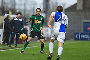 Scunthorpe United Midfielder, Levi Sutton (31) during the EFL Sky Bet League 1 match between Bristol Rovers and Scunthorpe United at the Memorial Stadium, Bristol, England on 25 February 2017. Photo by Adam Rivers.