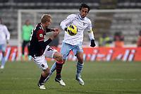 """Stefano Mauri Lazio.Bologna 10/12/2012 Stadio """"Dall'Ara"""".Football Calcio Serie A 2012/13.Bologna v Lazio.Foto Insidefoto Paolo Nucci."""