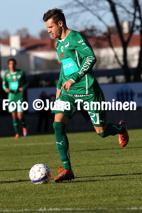 23.4.2014, Veritas Stadion, Turku.<br /> Veikkausliiga 2014.<br /> Turun Palloseura - IFK Mariehamn.<br /> Luis Solignac - IFK Mhamn