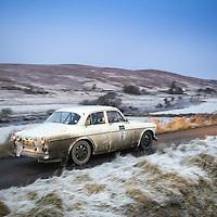 Car 7 Richard White / Bernard Northmore - Volvo 122S