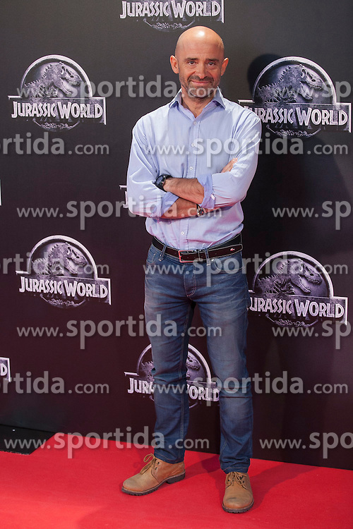 11.06.2015, Madrid, ESP, Jurassic World, Premiere, im Bild Antonio Lobato // attends // to the Jurassic World film premiere in Madrid, Spain on 2015/06/11. EXPA Pictures &copy; 2015, PhotoCredit: EXPA/ Alterphotos/ Victor Blanco<br /> <br /> *****ATTENTION - OUT of ESP, SUI*****