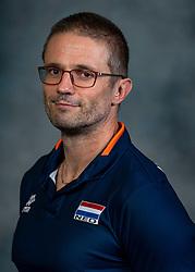 21-05-2019 NED: Team shoot Dutch volleyball team men, Arnhem<br /> Ass. coach Max Giaccardi of Netherlands