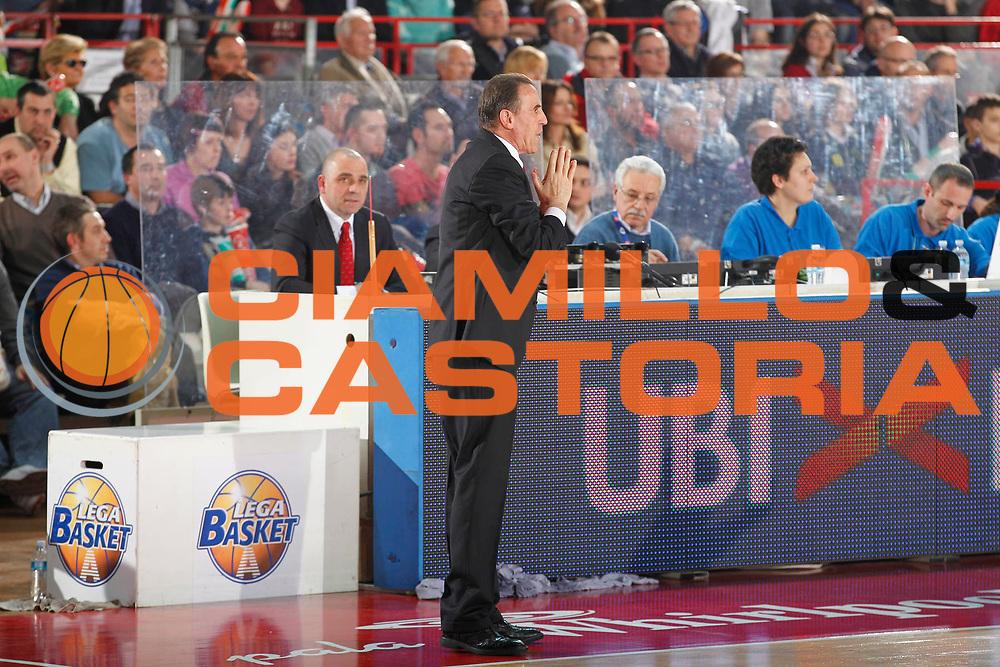 DESCRIZIONE : Varese Campionato Lega A 2011-12 Cimberio Varese Canadian Solar Virtus Bologna<br /> GIOCATORE : Carlo Recalcati<br /> CATEGORIA : Ritratto Delusione<br /> SQUADRA : Cimberio Varese<br /> EVENTO : Campionato Lega A 2011-2012<br /> GARA : Cimberio Varese Canadian Solar Virtus Bologna<br /> DATA : 04/03/2012<br /> SPORT : Pallacanestro<br /> AUTORE : Agenzia Ciamillo-Castoria/G.Cottini<br /> Galleria : Lega Basket A 2011-2012<br /> Fotonotizia : Varese Campionato Lega A 2011-12 Cimberio Varese Canadian Solar Virtus Bologna<br /> Predefinita :