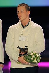 14-12-2009 ALGEMEEN: TOPSPORT GALA AMSTERDAM: AMSTERDAM<br /> Beste talent Nick Urbanus<br /> ©2009-WWW.FOTOHOOGENDOORN.NL