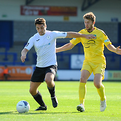 TELFORD COPYRIGHT MIKE SHERIDAN Adam Walker of Telford during the National League North fixture between AFC Telford United and Nantwich Town on Saturday, September 21, 2019.<br /> <br /> Picture credit: Mike Sheridan<br /> <br /> MS201920-020