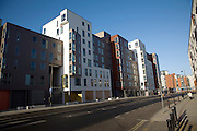 Athena Hall, modern architecture new student accommodation, Ipswich