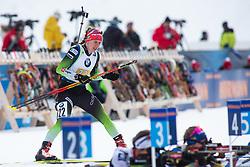 Polona Klemencic (SLO) during the Mixed Relay 2x 6 km / 2x 7,5 km at day 3 of IBU Biathlon World Cup 2019/20 Pokljuka, on January 23, 2020 in Rudno polje, Pokljuka, Pokljuka, Slovenia. Photo by Peter Podobnik / Sportida
