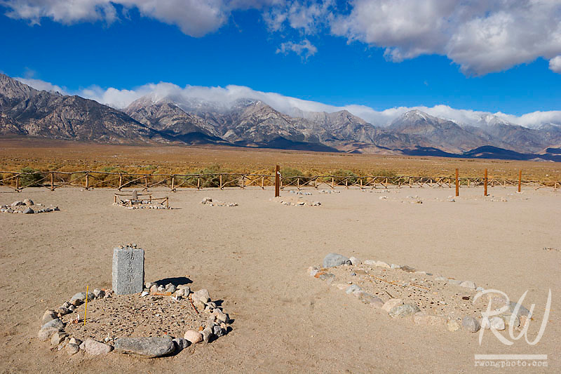 Cemetery, Manzanar National Historic Site, Independence, California