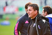 Sylvain BEGON - 14.03.2015 - Stade Francais / Grenoble -  20eme journee de Top 14<br /> Photo : David Winter  / Icon Sport<br /> <br />   *** Local Caption ***
