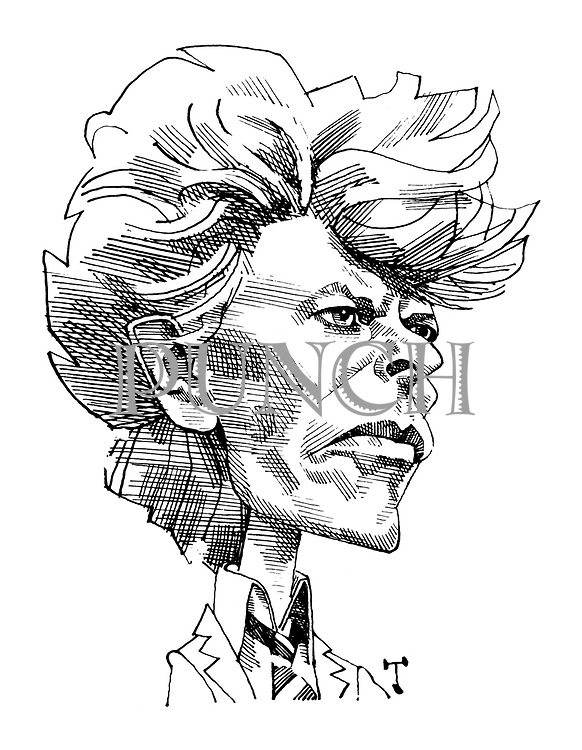 (Portrait of David Bowie)