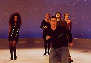 Happy Mondays, 'Kinky Afro' music video shoot, 1990