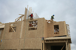 Gradnja hise. (Photo by Vid Ponikvar / Sportida)