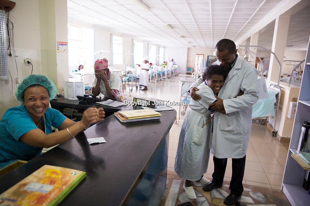 Dr. Fekade Ayenachew, Chief Medical Officer of Hamlin Fistula Hospital.